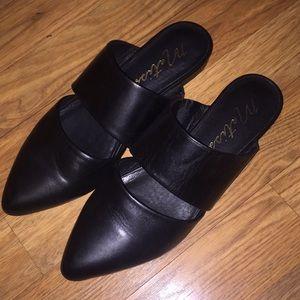 Matisse Black Berlin Slide Shoes - 6.5